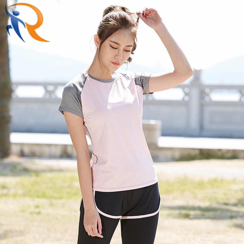 Women Casual Short Sleeve Sportswear T-Shirt