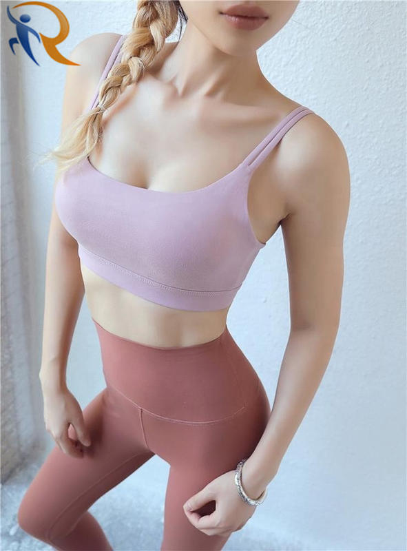 Women Fashion Gym Wear Seamless Yoga Bra