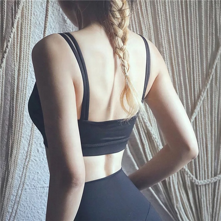 product-Women Fashion Gym Wear Seamless Yoga Bra-Ruiteng-img