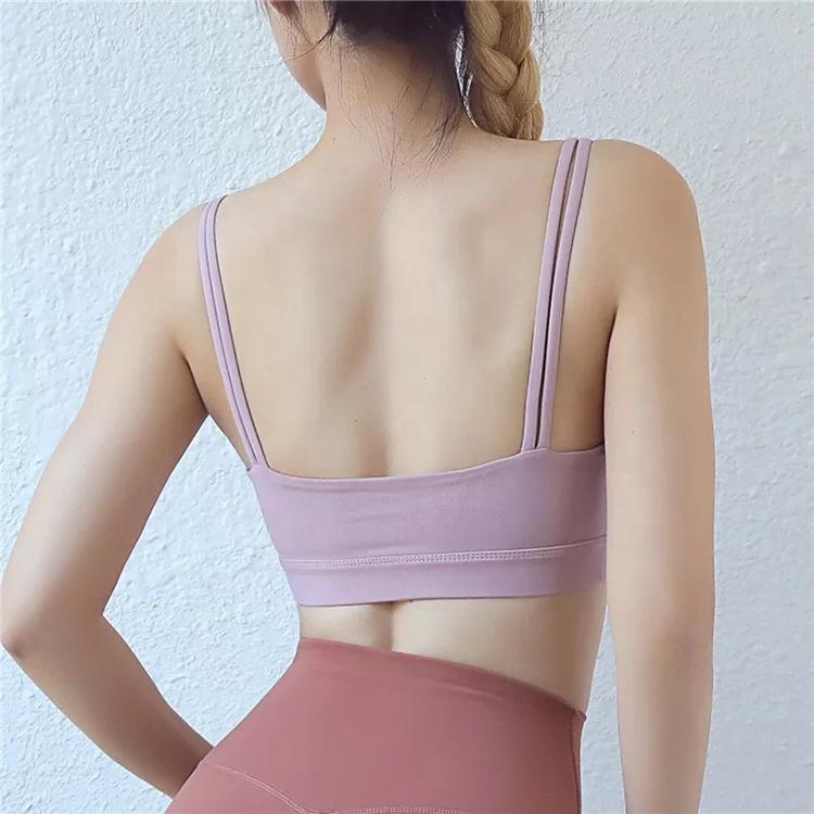 product-Ruiteng-Women Fashion Gym Wear Seamless Yoga Bra-img