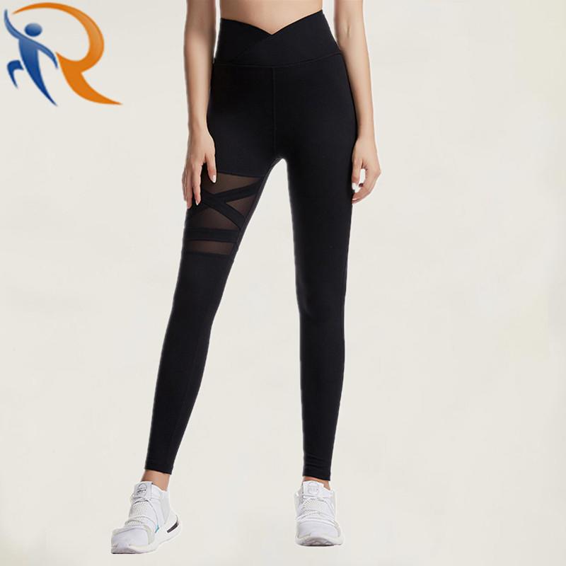 Lady′s Yoga Leggings Slim Sexy Pure Color Fitness Leggings