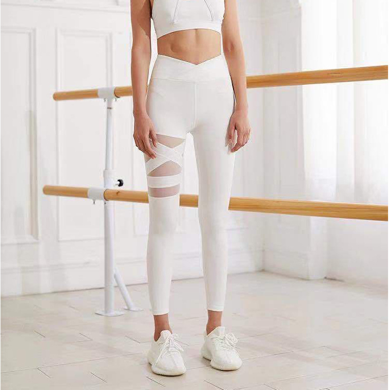 product-Lady′s Yoga Leggings Slim Sexy Pure Color Fitness Leggings-Ruiteng-img