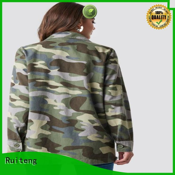 Ruiteng ladies fancy jacket Suppliers for walk