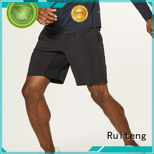 Ruiteng cotton gym shorts for business for sports