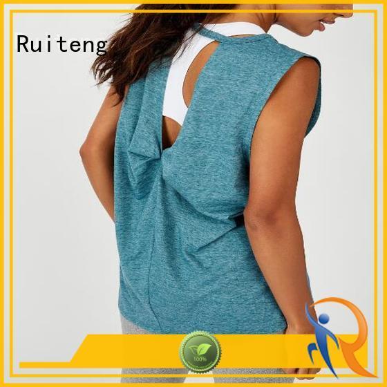 Ruiteng Custom sports singlets manufacturers for walk