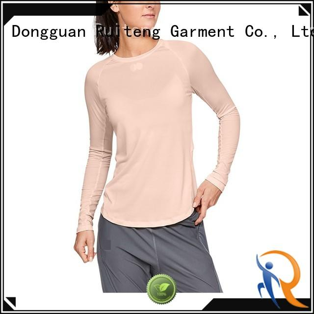 Ruiteng High-quality short sleeve polo shirt company for running