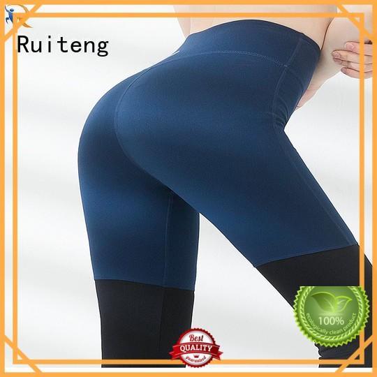 Ruiteng hot yoga wear factory for walk
