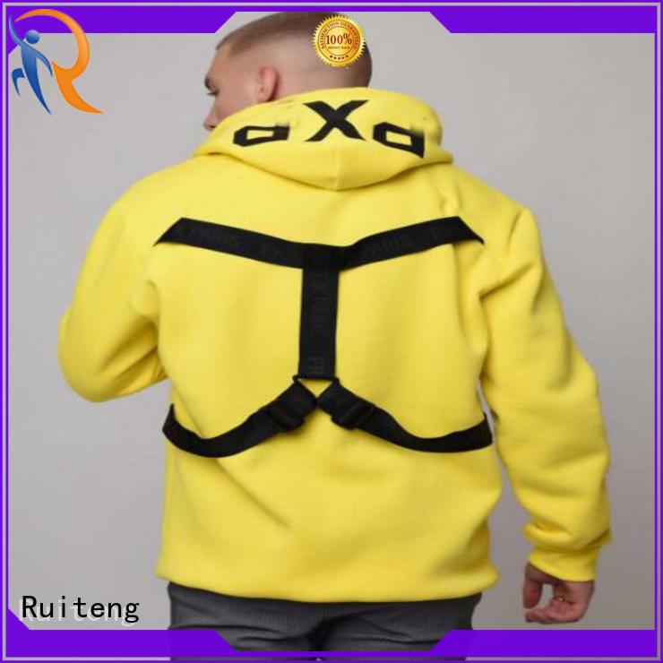 Ruiteng Top mens fashion hoodies for gym