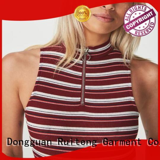 Ruiteng quality sports tank tops manufacturers for indoor