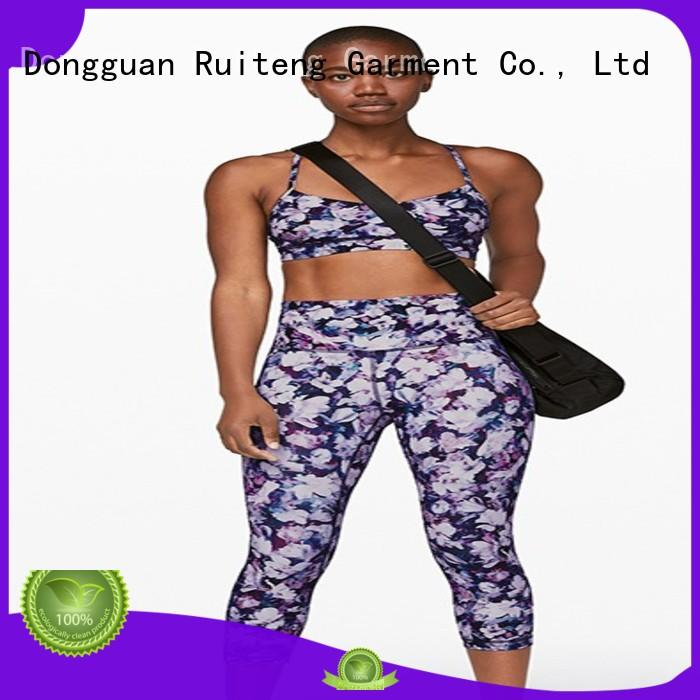 Ruiteng comfortable sports bra for running factory for indoor