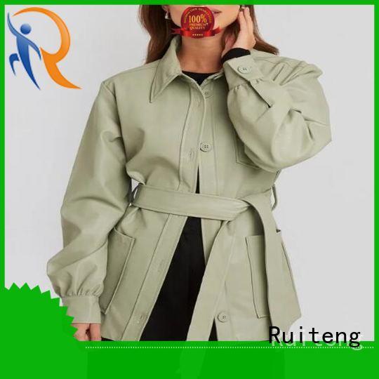 Ruiteng Custom fancy jacket for mens manufacturers for walk