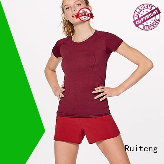 Ruiteng quality polo tee shirts wholesale for running