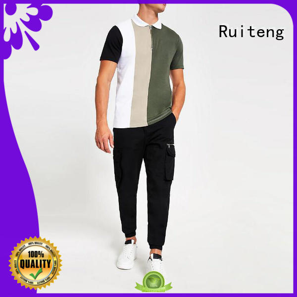 Ruiteng polo style shirts for business for gym