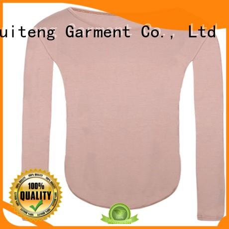 Ruiteng polo tee shirts factory price for running
