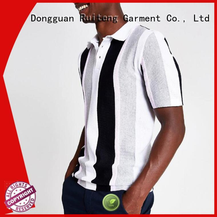 Ruiteng polo t shirt online manufacturers for sports