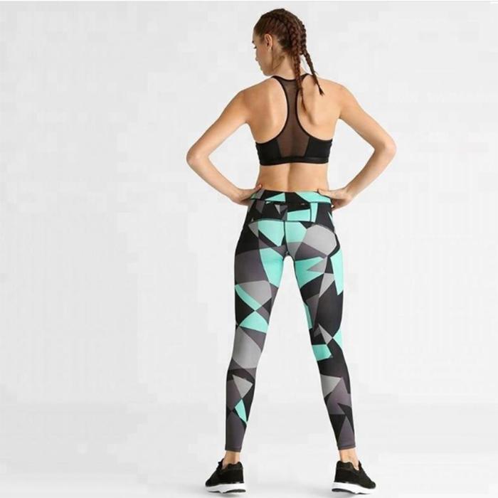 Fitness Printed Women Sport Legging  RTE14
