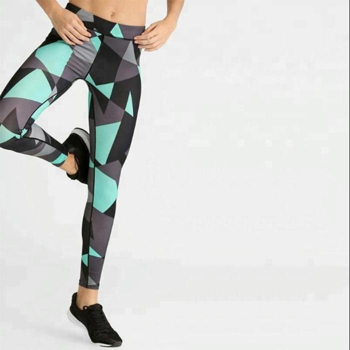 Ruiteng-Fitness Printed Women Sport Legging Rte14 | Sports Legging