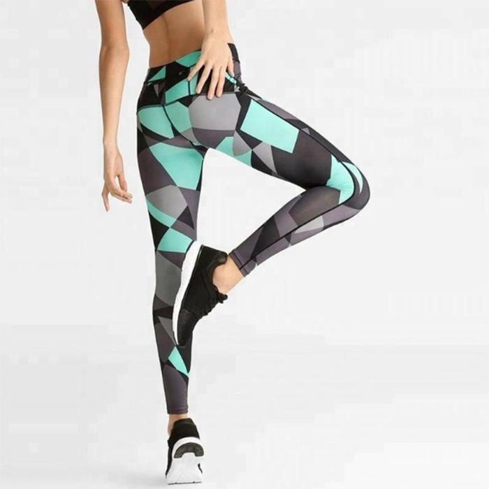 Ruiteng-Fitness Printed Women Sport Legging Rte14 | Sports Legging-2
