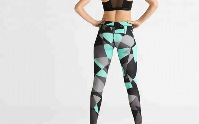 Ruiteng-Fitness Printed Women Sport Legging Rte14 | Sports Legging-4