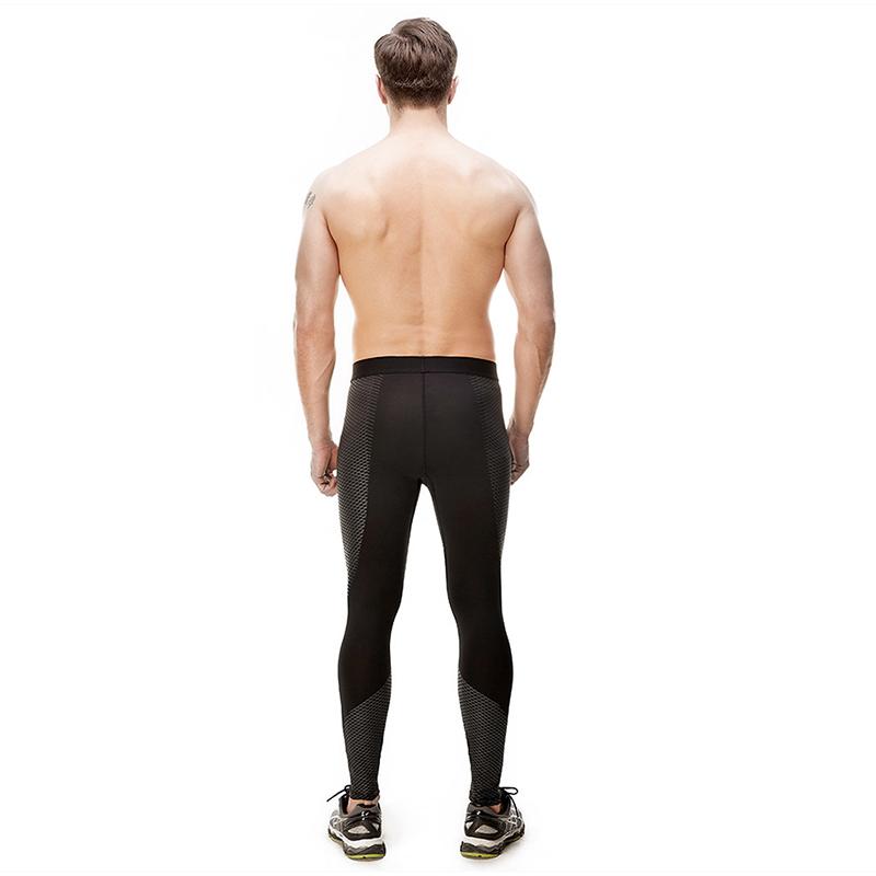 Ruiteng-High-quality Workout Men Compression Leggings Fitness Black-1
