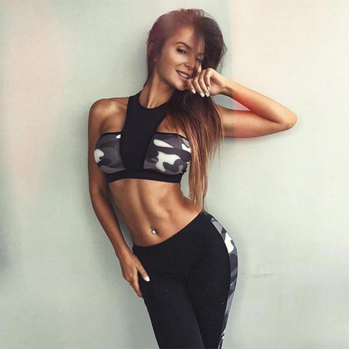 Print Fitness Yoga Set-RTE26