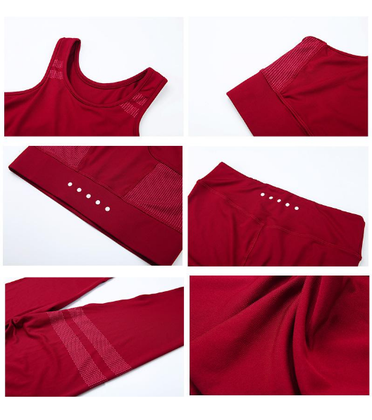 Ruiteng-Hot Sales Seamless Yoga Suits-Rte-25 Manufacture, Yoga Tank Tops-3