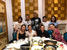 This photo was shot when we just finished dinner with our old customers who have already cooperated with us for 5 years. We look like a big family.