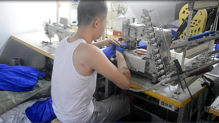 elastic waistband  sewing