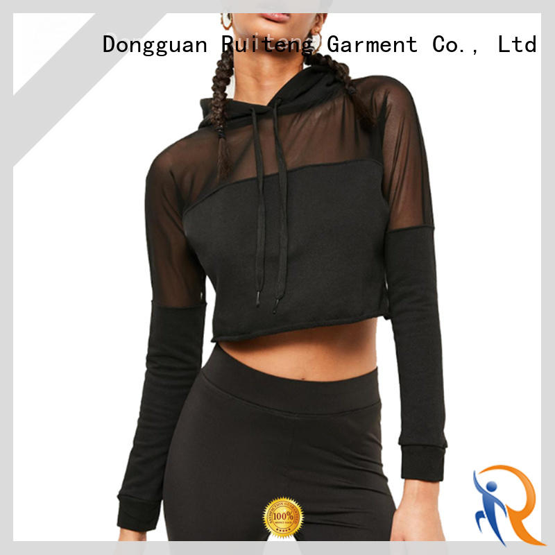 Ruiteng mens fashion hoodies wholesale for gym