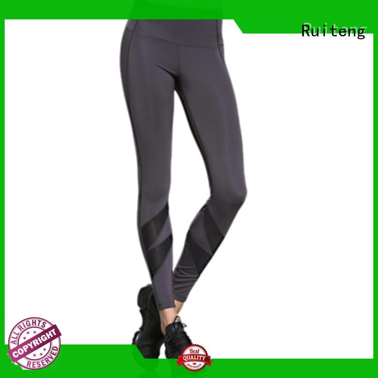 Ruiteng high waisted running leggings manufacturer for sports