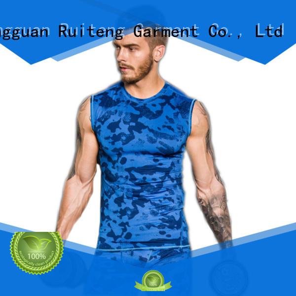 mens muscle tank tops quality fitness Warranty Ruiteng