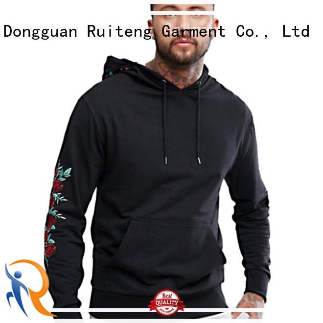 fleece fashion hoodies training Ruiteng company