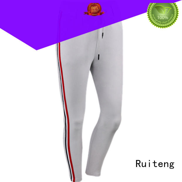Hot mens grey skinny joggers sweat Ruiteng Brand