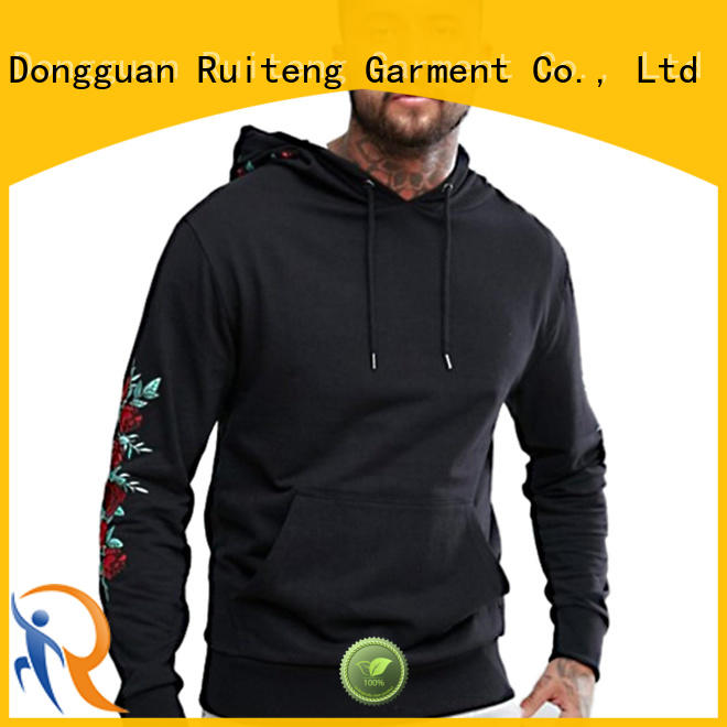 Ruiteng mens fashion hoodies wholesale for sports