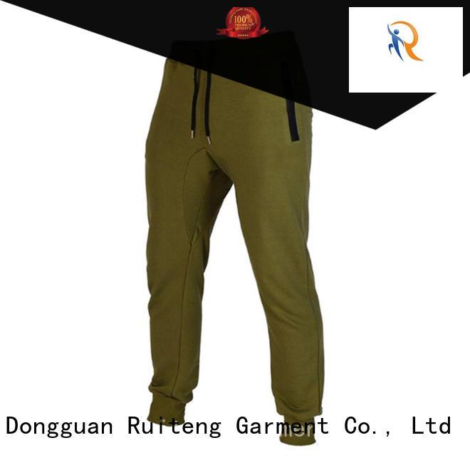 Custom jersey –rte07 slim joggers Ruiteng bottoms
