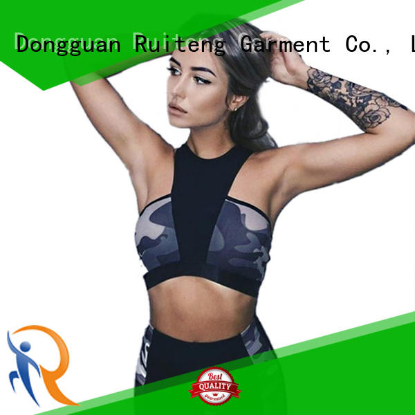 Custom print seamless Yoga Suit Ruiteng fitness