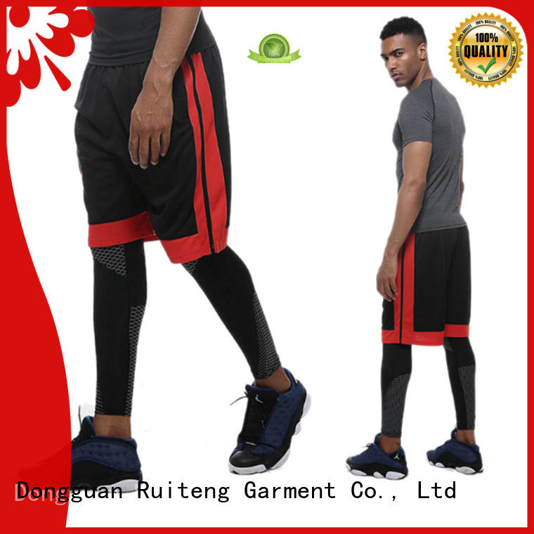 Ruiteng loose fit shorts women's factory for gym