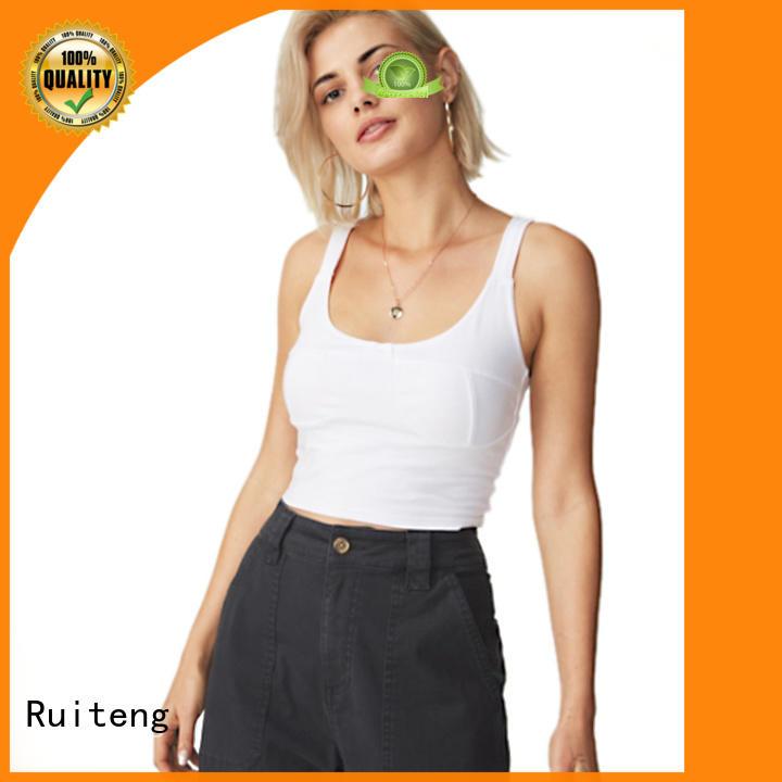 Hot bodycon mens tank tops cheap blank apparel Ruiteng Brand
