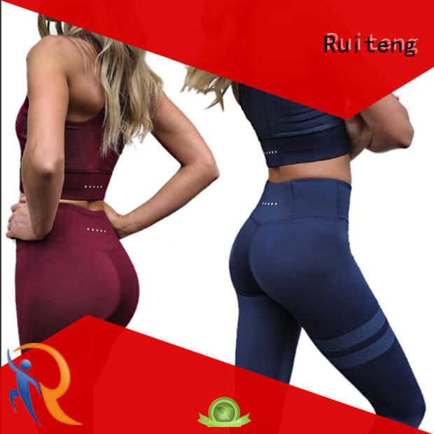 Ruiteng Brand yoga fitness Yoga Suit seamless factory