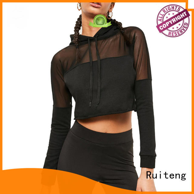 Ruiteng female hoodies Suppliers for sports