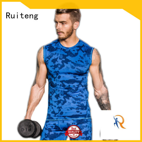 Quality Ruiteng Brand mens muscle tank tops apparel
