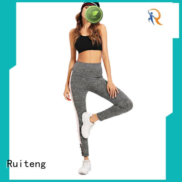 clothing tights slim Ruiteng Brand best gym leggings supplier
