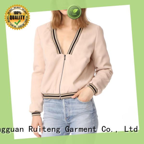 V-neck Fashion Jacket For Women-RTE05