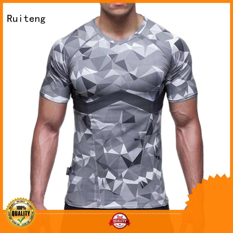 Ruiteng Brand tops polo tee shirts printed factory