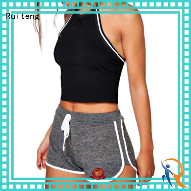 Custom women's fitness shorts for sports