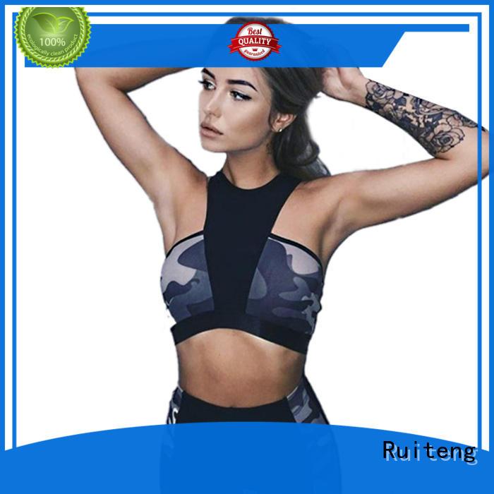 Wholesale print seamless Yoga Suit Ruiteng Brand