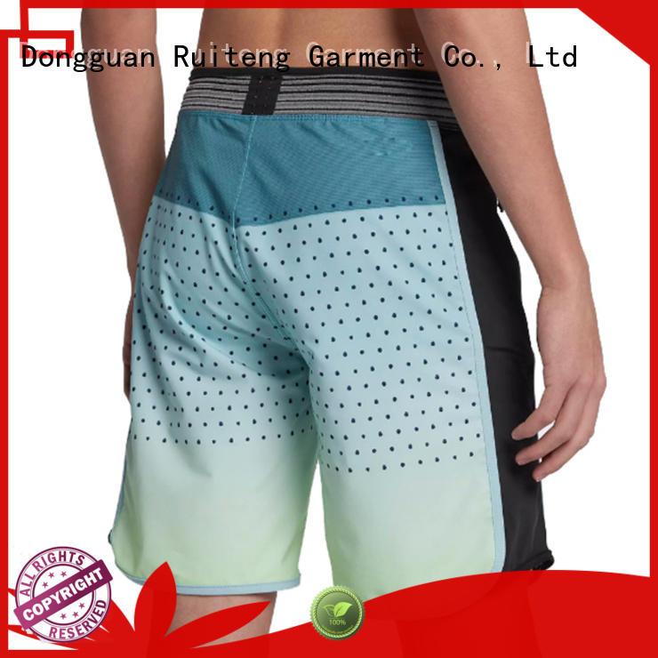 elegant long length swim shorts series for indoor Ruiteng