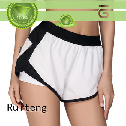 Ruiteng Wholesale cotton gym shorts Suppliers for running
