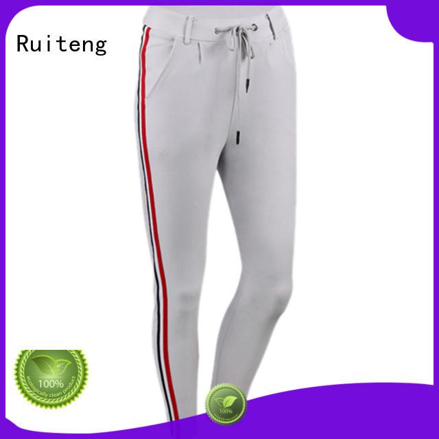 Ruiteng Brand women training mens grey skinny joggers oem supplier